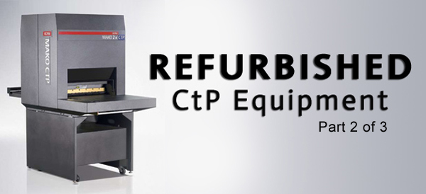 Refurbished CtP Equipment Banner