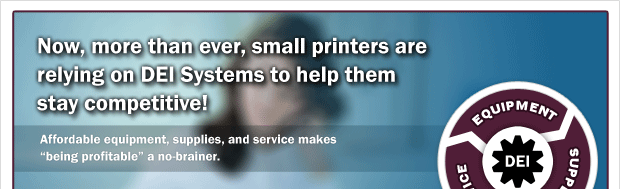 DEI - Prepress supplies and equipment for printers